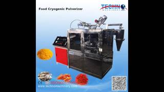 Food Industry Small Cryogenic Grinder Demonstration