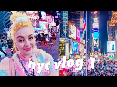 💕🏙 NYC Arrival Day and Times Square! 🏙💕