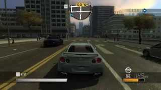 Driver: San Francisco - Nissan GT R (2010) Gameplay PC
