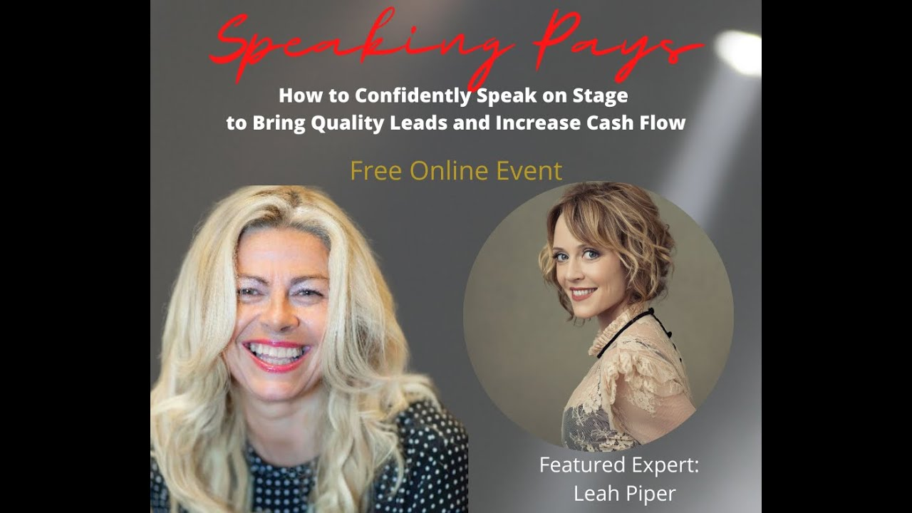How to Confidently Speak on Stage
