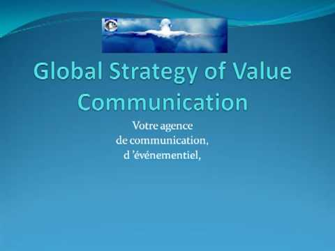 Global Strategy of Value Communication