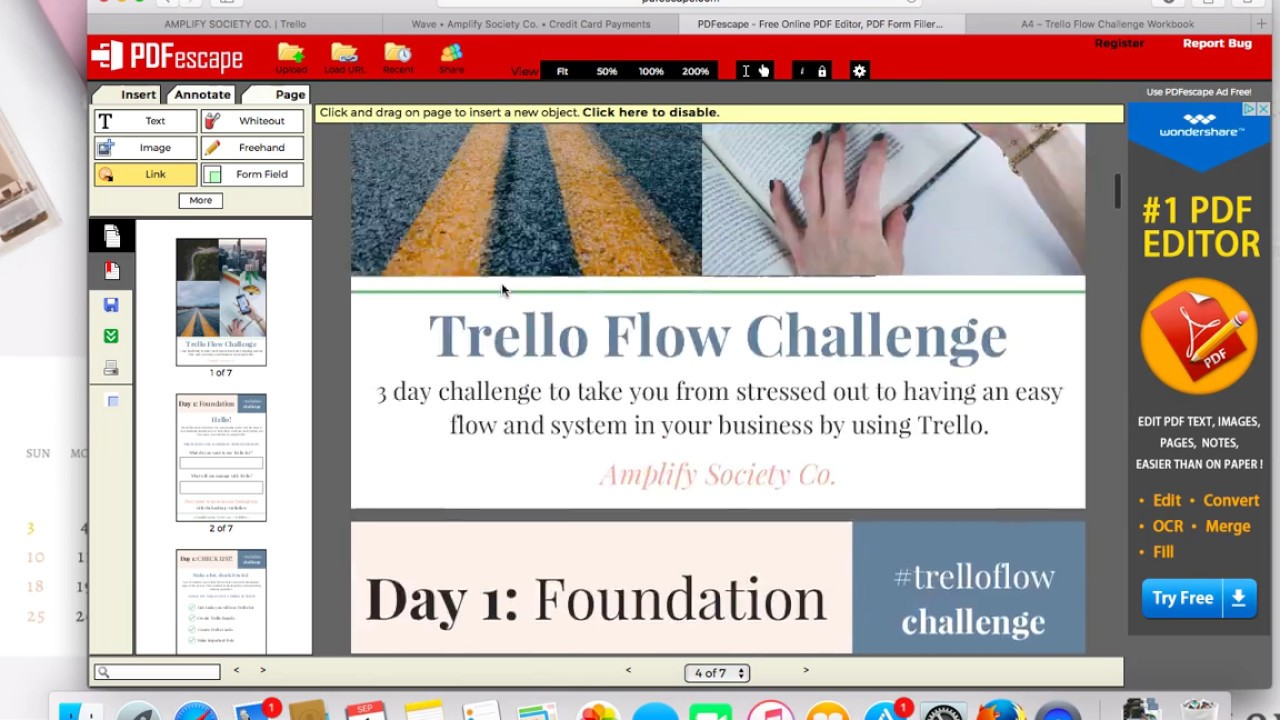 how to make editable pdf in canva for free youtube