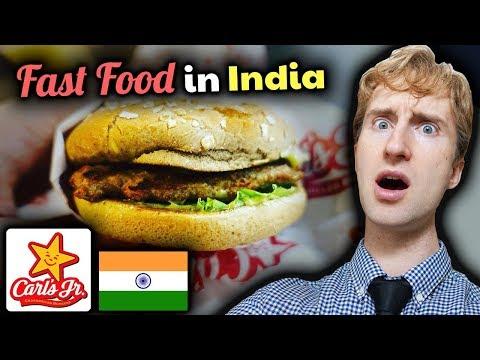 CARL'S JUNIOR in India // SAVAGE Review of Delhi Burgers