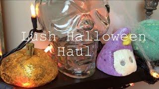 LUSH HAUL {Halloween 2014} Thumbnail