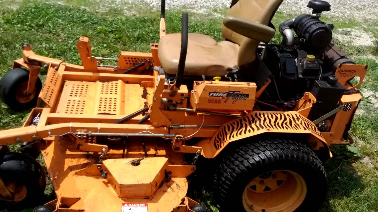 61 Quot Scag Turf Tiger 25hp Youtube