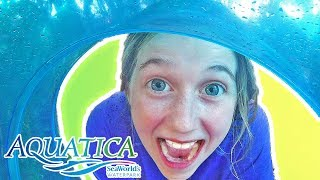 AQUATICA: A Day at SeaWorlds Water Park!