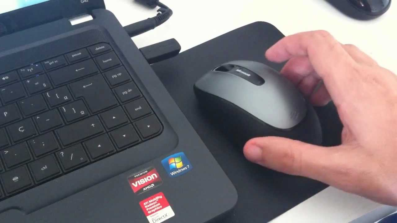 0c34757e918 Unboxing e instalação: Mouse Microsoft Wireless 2000 - YouTube