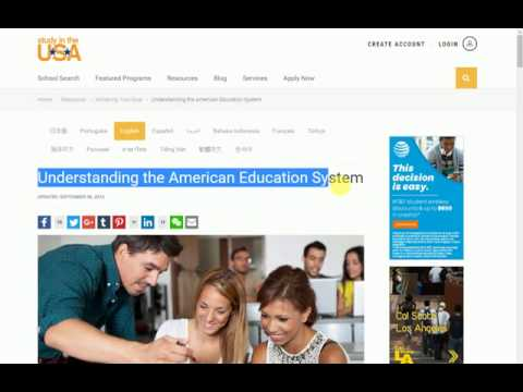 Understanding the American Education System United States New Education Information