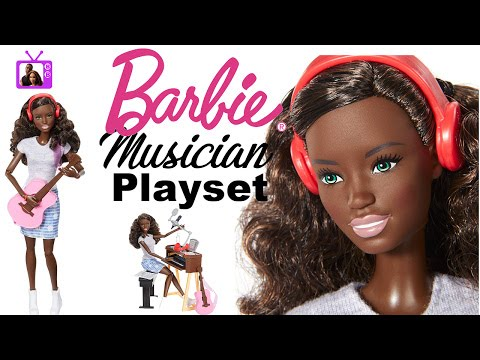 Barbie Musician Playset - Doll Events - AA Articulated Barbie Doll