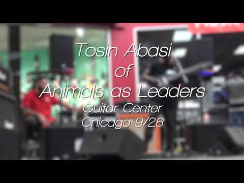 Tosin Abasi of Animals as Leaders, Clinic - Guitar Center Chicago