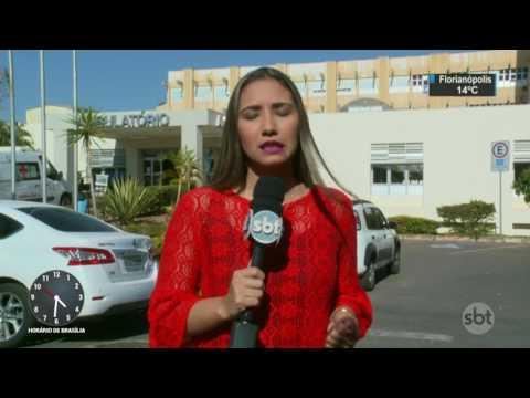 Pacientes sofrem com a falta de médicos no Hospital Regional do Paranoá - SBT Notícias (05/08/17)