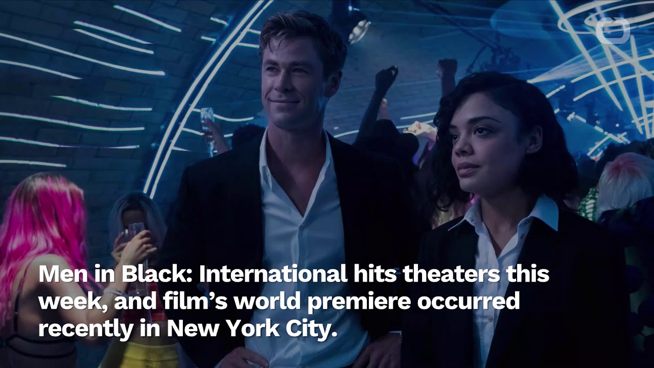Chris Hemsworth Shares Photos From Men in Black: International Premiere