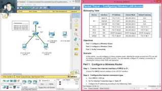 4.4.2.2 Packet Tracer - Configuring Wireless LAN Access