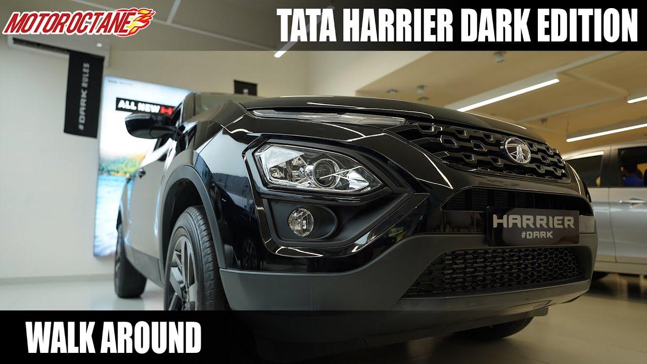 Download New Tata Harrier Dark Edition - WOW! Looks Devilish!