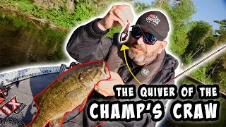 The Quivering Claw of the Berkley Champ's Craw!
