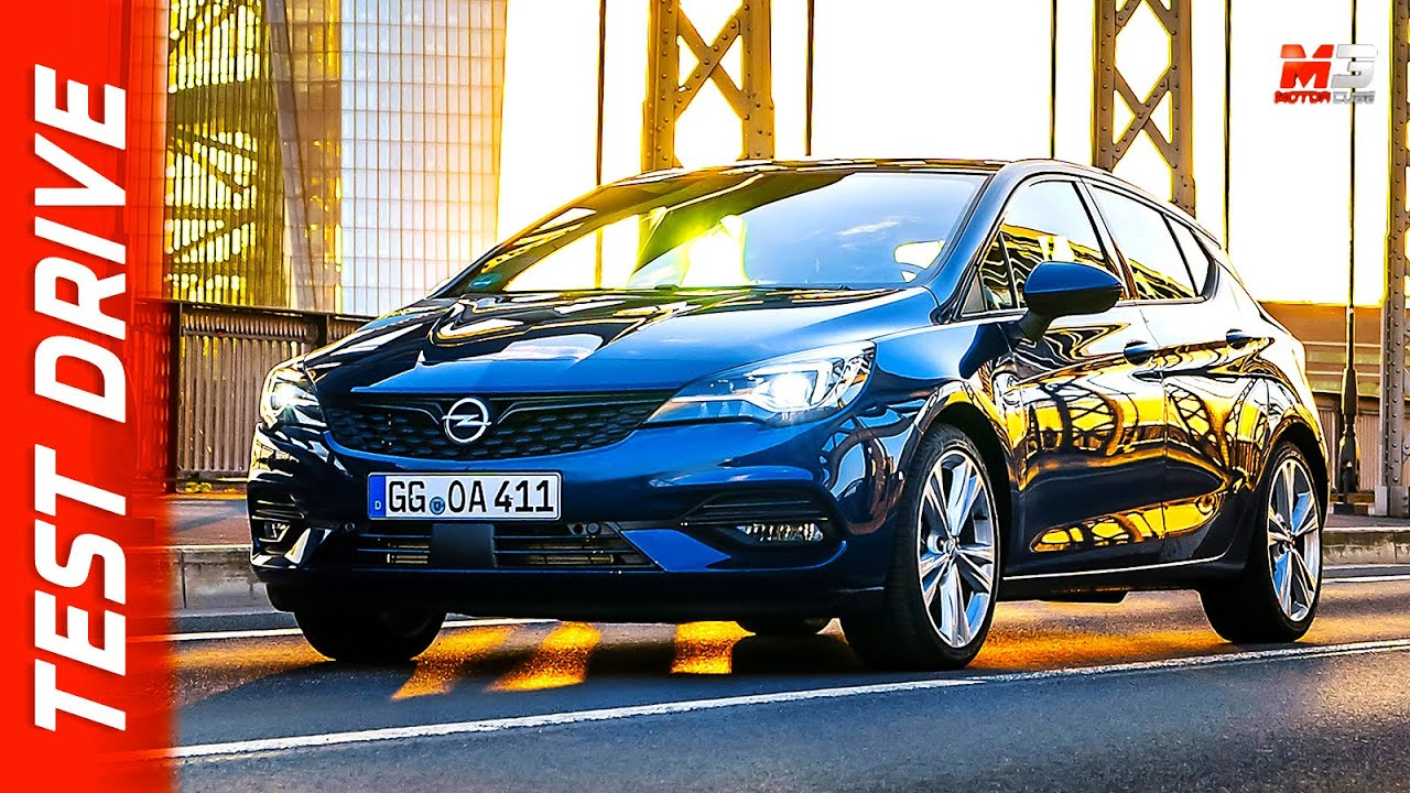 new opel astra 2020  first test drive  youtube