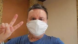 защитная маска от вируса.⚡ Можно сделать за 1 минуту! ЛАЙФХАК/ Virus protection mask.