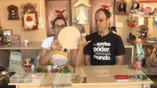Guirlanda de natal por Estela Junqueira