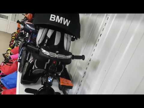 BMW 5M велосипед трехколесный видеообзор