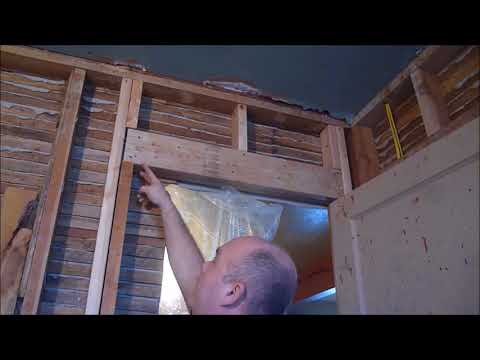 FRAMING FOR A DOOR THROUGH A STRUCTURAL WALL #2