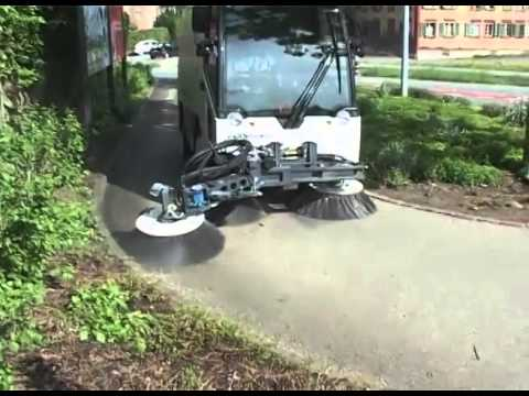 Balayeuse AEBI MFH 2500 / Street Sweeper, Kehrmaschine, Veegmachine, Sopmaskin, Wischmaschine