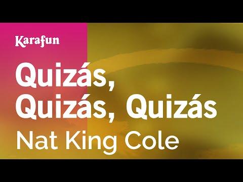 Karaoke Quizás, Quizás, Quizás - Nat King Cole *
