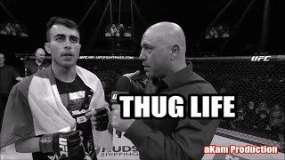 THUG LIFE - Joe Rogan with Makwan Amirkhani Post Fight Interview