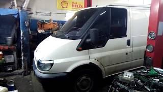 Замена передних стоек Форд Транзит / Ford Transit 2005 г.###