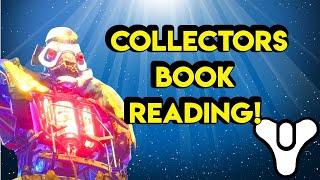 Gambar cover LIVE 🔴 Calus Collectors Book Destiny 2  | Myelin Games