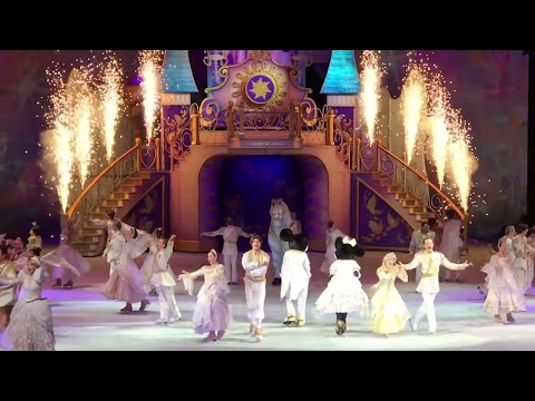 Disney on Ice w/ Rapunzel Snow White Cinderella Tangled Princess and the frog and Princess Ella