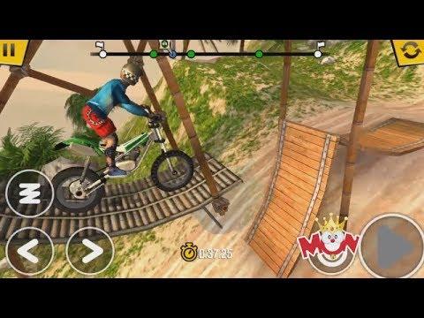 Trial Xtreme 4 - Moto - Motocross Racing - Video Juegos Para Niños - Prueba Extrema De Motocicletas