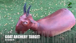 """Goat"" Handmade Archery Target"