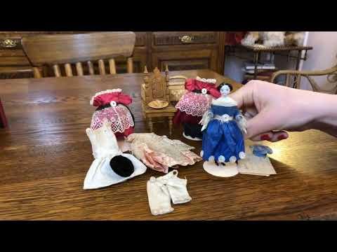 Tiny China Delights   Antique Doll Seminar