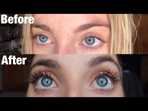 GROW YOUR EYELASHES: 30 Days of Castor Oil for Eyelash Growth | Morgan Green - YouTube