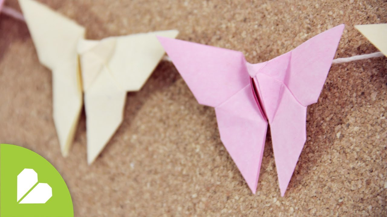Papercraft Como hacer Mariposa Origami: deco // mariposas de papel