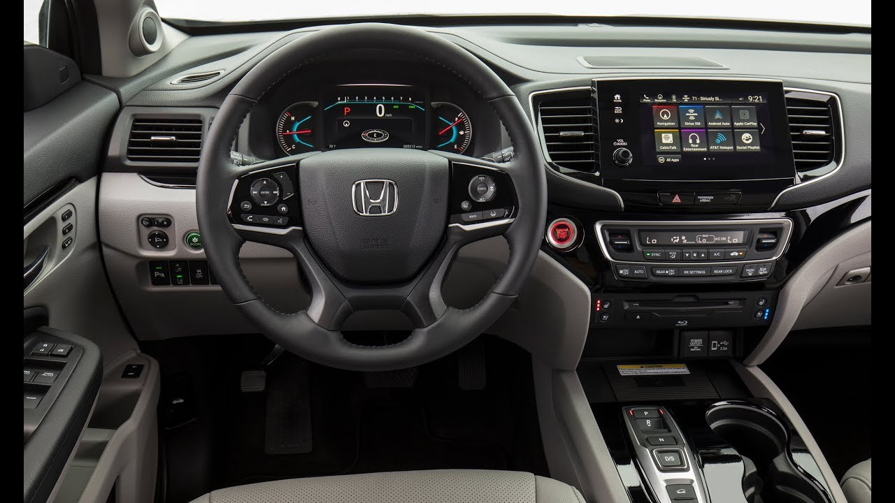 honda pilot elite interior youtube