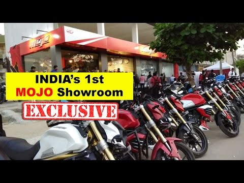 India's 1st Exclusive Mahindra MOJO Showroom Launch in Bangalore