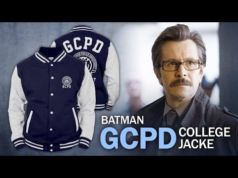 Batman: Die Gotham City Police Department-College-Jacke