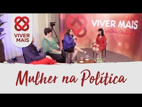 PROGRAMA VIVER MAIS - PARTICIPACAO DA MULHER NA POLITICA