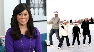 Kristi Yamaguchi on Sochi and Ice Skating as a Family Event | POPSUGAR Interview