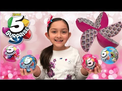 5 Surprise Ball -  Zuru Toys Blinds Unboxing Review -