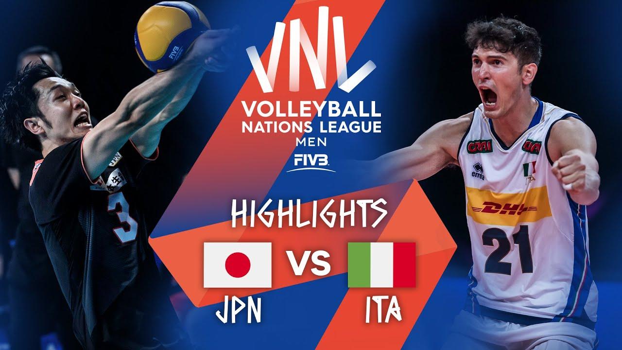 Download JPN vs. ITA - Highlights Week 3 | Men's VNL 2021
