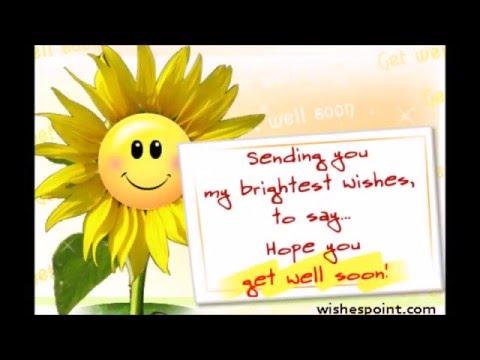 Get Well Soon Video! #getwellsoon