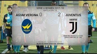 HIGHLIGHTS: AGSM Verona vs Juventus Women  - 12/3/18