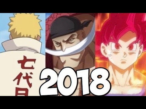 Major 2018 Anime & Manga Announcements!!