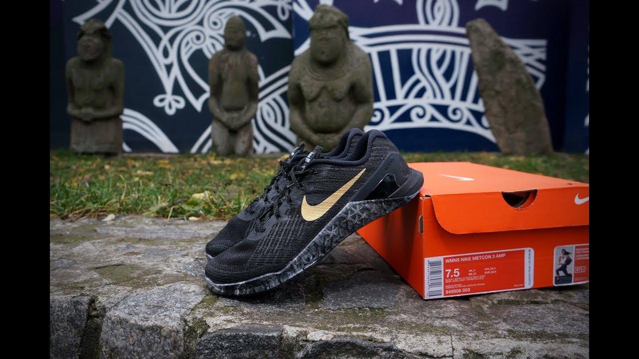 Nike Oro Metcon 3 Oro Nike Negro Youtube 75631a