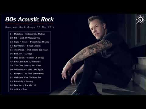 Acoustic Rock Classic / Scorpions, Bon Jovi, Led Zeppelin, Aerosmith, U2, Greatest Hits