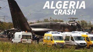 Algerian Military IL-76 Crashes in Algeria Killing 257