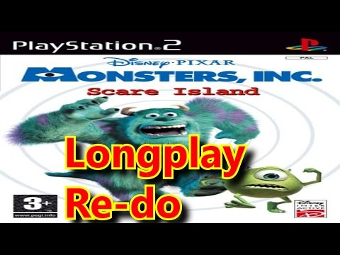 PS2 Longplay Re-do: Monsters Inc. Scare Island