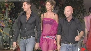 DOLCE&GABBANA Full Show Spring Summer 2002 Milan by Fashion Channel